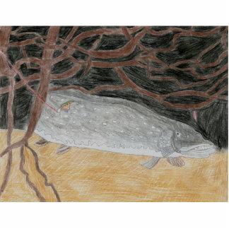 Winning Art By J. Wendel Grade 8 Acrylic Cut Out