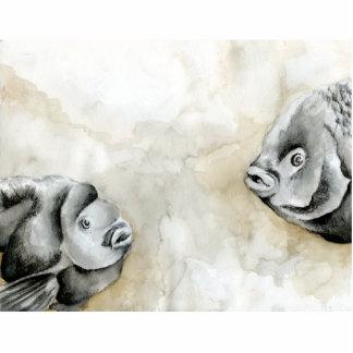 Winning art by  K. Hepp - Grade 11 Photo Cut Out