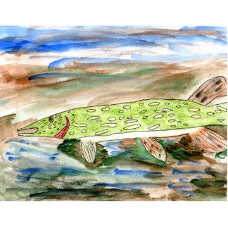Winning art by  K. Nelsen - Grade 4 Cut Outs