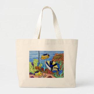 Winning Art By L. Haff Grade 8 Jumbo Tote Bag
