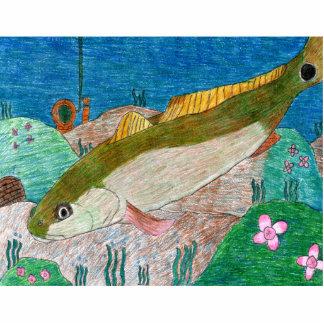 Winning art by  M. Groves - Grade 12 Standing Photo Sculpture