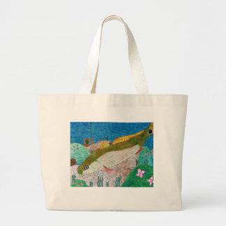 Winning art by  M. Groves - Grade 12 Jumbo Tote Bag