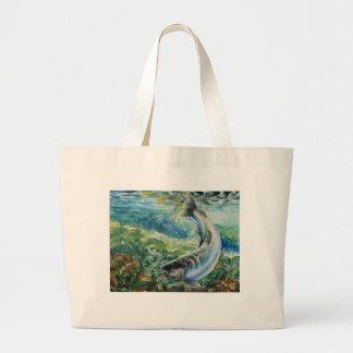 Winning Art By S. Chun Grade 11 Jumbo Tote Bag