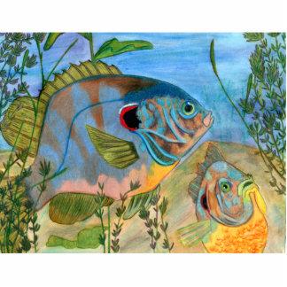 Winning art by  S. Daniels - Grade 11 Cut Outs