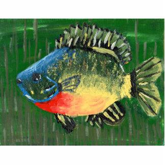 Winning art by  S. Darring - Grade 8 Photo Cutout