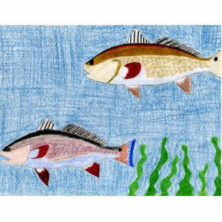 Winning art by  T. Locklear - Grade 9 Photo Cutout