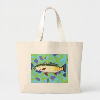 Winning artwork by A. Bryan , Grade 5 Jumbo Tote Bag