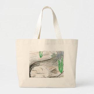 Winning artwork by B Bailey Grade 6 Bags
