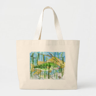 Winning artwork by C. Durler, Grade 6 Jumbo Tote Bag