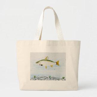 Winning artwork by E. Branton, Grade 5 Jumbo Tote Bag