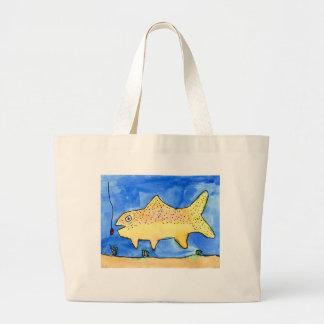 Winning artwork by E. Gardner, Grade 4 Jumbo Tote Bag