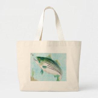 Winning artwork by E. Vance, Grade 8 Jumbo Tote Bag