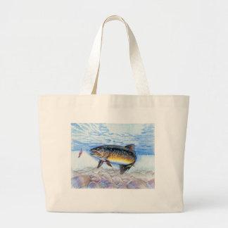 Winning artwork by E. Zhang, Grade 6 Jumbo Tote Bag
