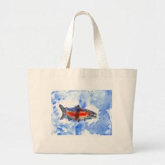 Winning artwork by M. Bekeris, Grade 5 Jumbo Tote Bag