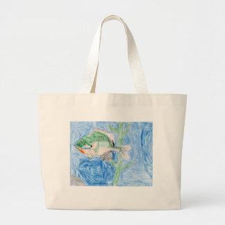 Winning artwork by S. Karch, Grade 4 Jumbo Tote Bag