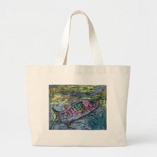 Winning artwork by Y. Seo, Grade 10 Jumbo Tote Bag