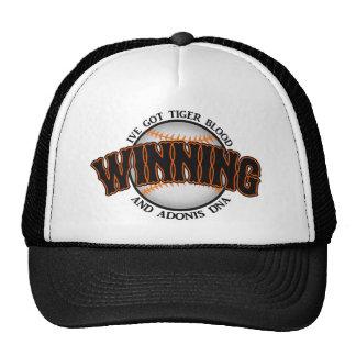 Winning Baseball Tiger Blood Hats