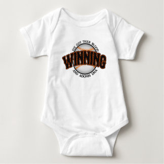 Winning Baseball Tiger Blood T Shirt