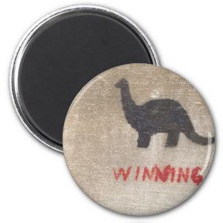 Winning Dinosaur Magnet