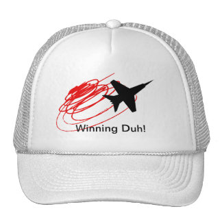 Winning Duh! Hats