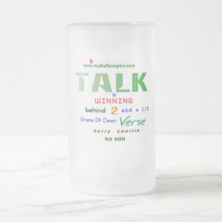 winning - glass coffee mug
