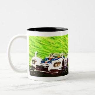 Winning Monza - digital Works Jean Louis Glineur Two-Tone Coffee Mug