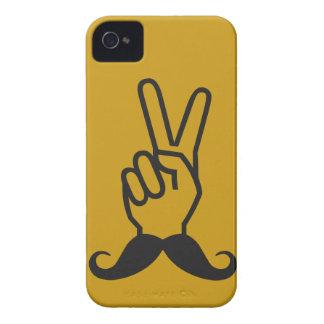 Winning Mustache custom color Blackberry case