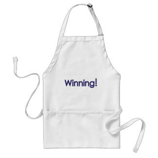 winning! sheen adult apron