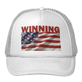Winning - The United States of America Hats