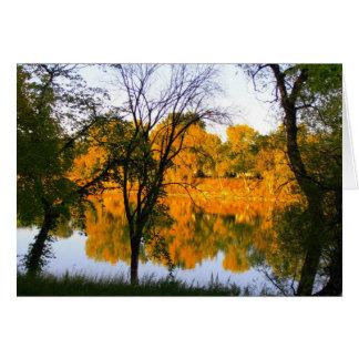 Winnipeg Autumn Card