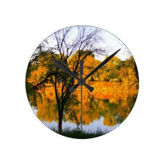 Winnipeg Autumn Wallclocks