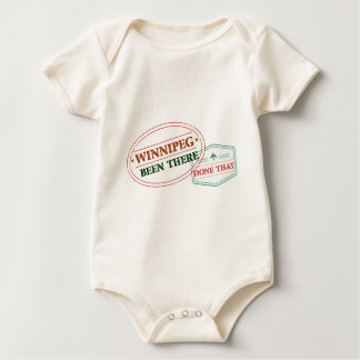 Winnipeg Been there done that Baby Bodysuit