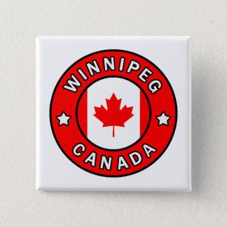 Winnipeg Canada 15 Cm Square Badge