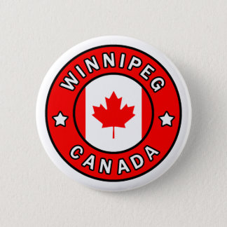 Winnipeg Canada 6 Cm Round Badge