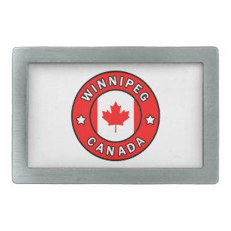 Winnipeg Canada Belt Buckle