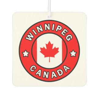 Winnipeg Canada Car Air Freshener