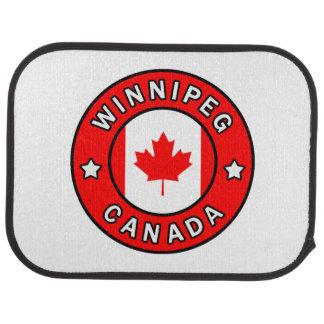 Winnipeg Canada Car Mat