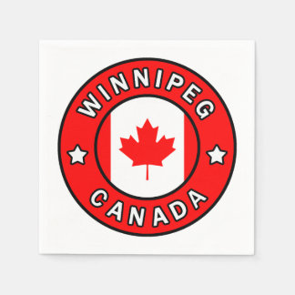 Winnipeg Canada Disposable Serviette