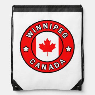 Winnipeg Canada Drawstring Bag