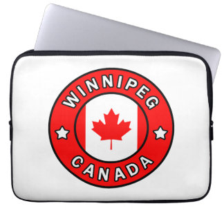 Winnipeg Canada Laptop Sleeve