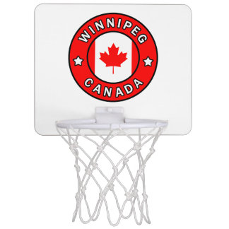 Winnipeg Canada Mini Basketball Hoop