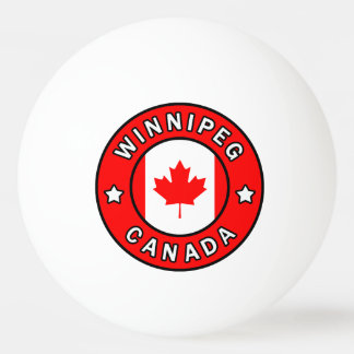 Winnipeg Canada Ping Pong Ball