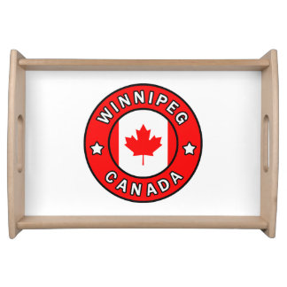 Winnipeg Canada Serving Tray