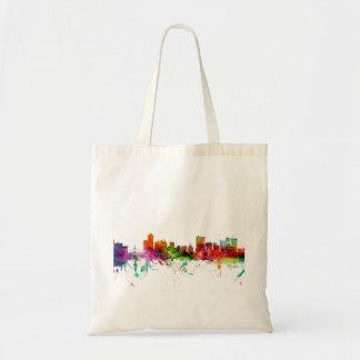 Winnipeg Canada Skyline Canvas Bags