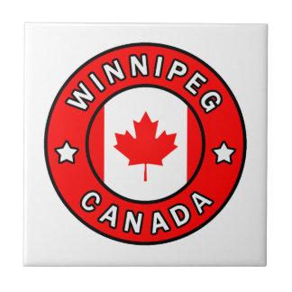 Winnipeg Canada Tile