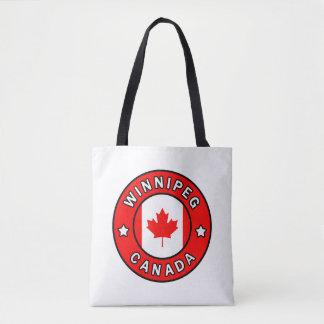 Winnipeg Canada Tote Bag