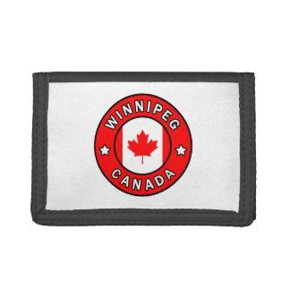 Winnipeg Canada Tri-fold Wallets