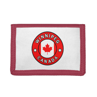 Winnipeg Canada Trifold Wallet