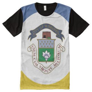 WINNIPEG Flag All-Over Print T-Shirt