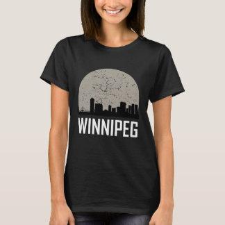 Winnipeg Full Moon Skyline T-Shirt
